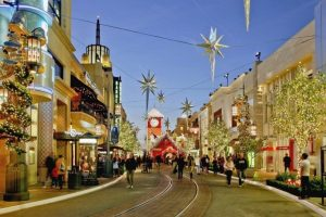 The Grove Shopping mall, Los Angeles, CA